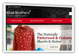 website designing company for shawls and stoles, new delhi