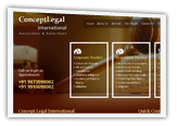 Intellectual Property, IT compliance and Real Estate matters Website Design Company