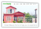 Properties and farm houses website design company in Delhi NCR