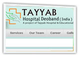 professional hospital website designing company, noida